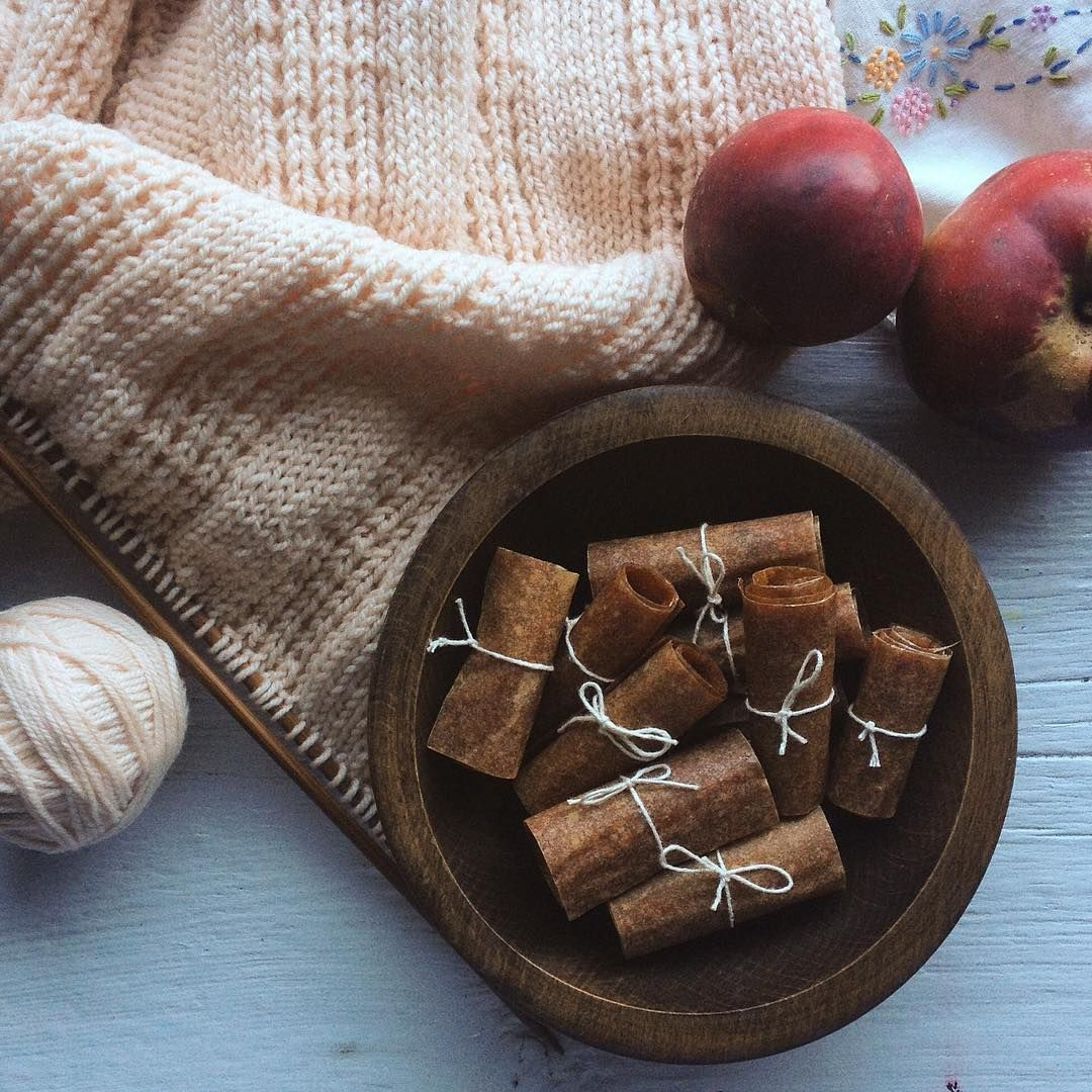 chai apple fruit leather