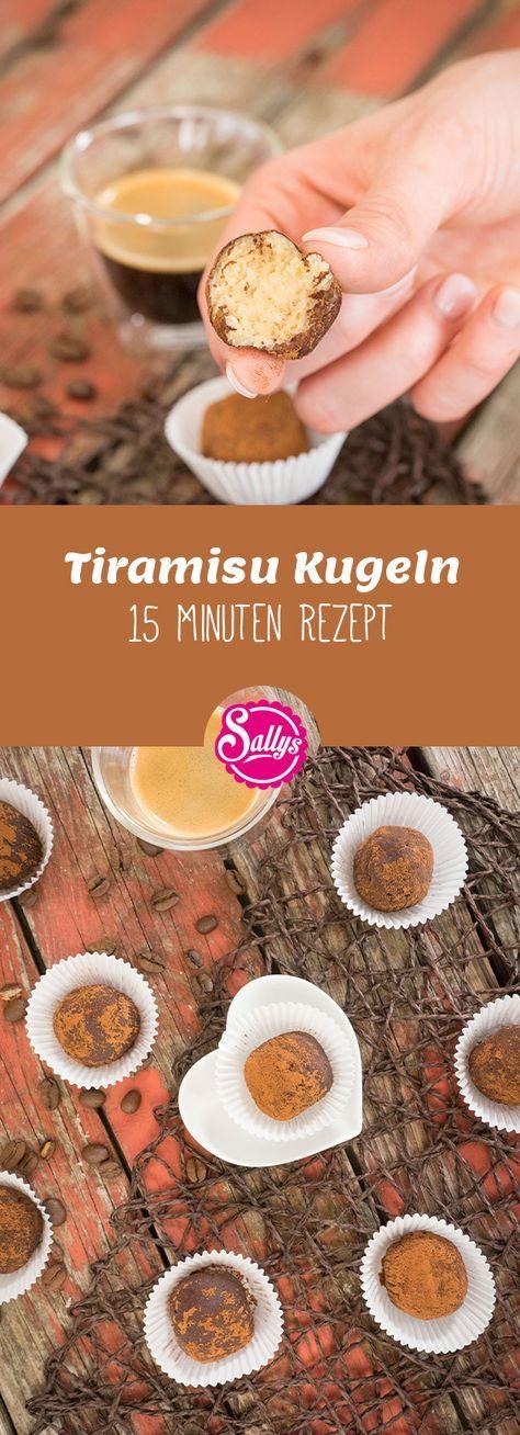 TIRAMISU KUGELN \/ EINFACHES 15 MINUTEN REZEPT Das leckere - 15 minuten küche