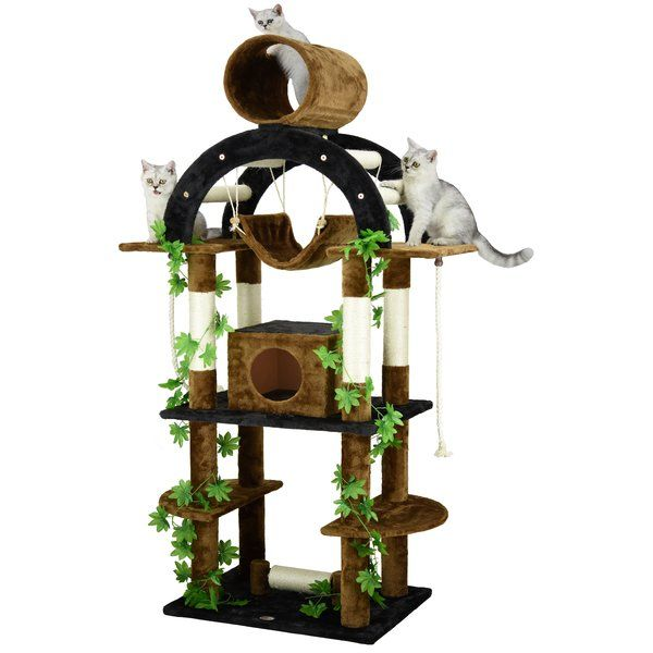 Best Designs For Very Small Condo: Cat Tree House, Cat Tree Condo, Cat Tree