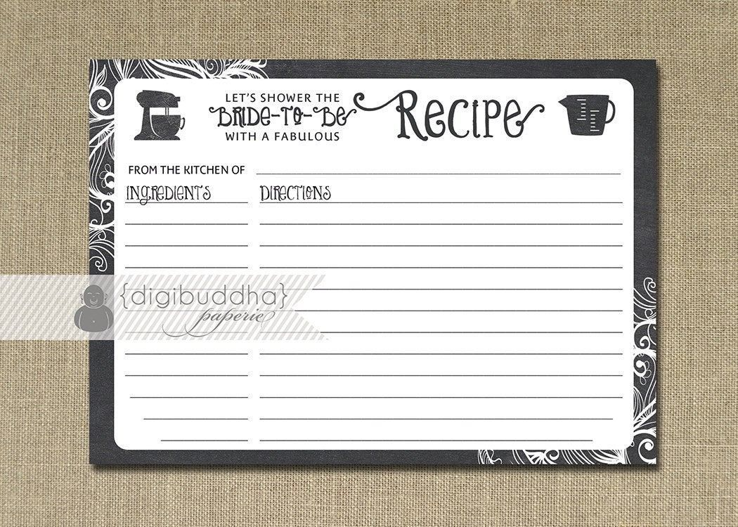 Free Editable Recipe Card Templates For Microsoft Word ...
