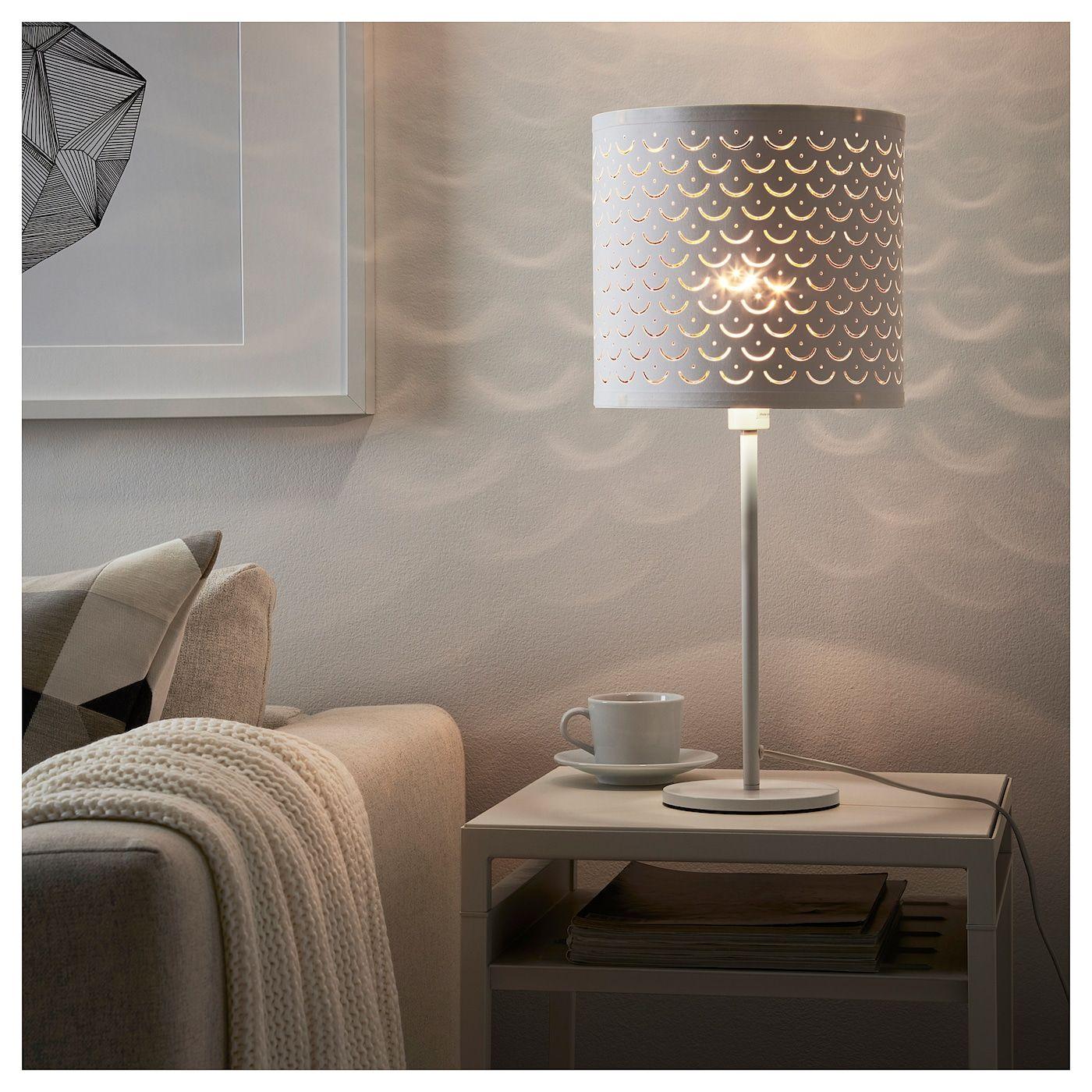 Ikea Nymo Lamp Shade White Brass Color Lamp Shade Lamp Ikea