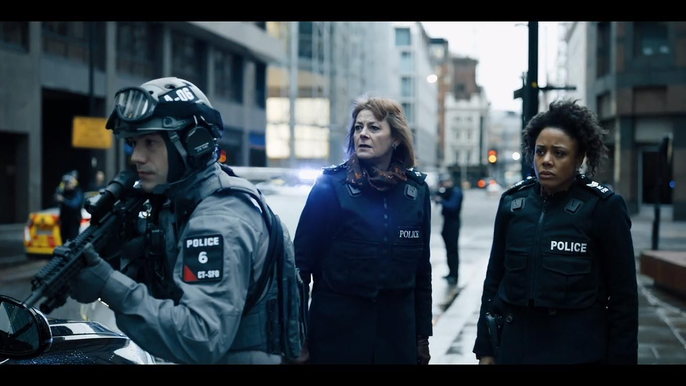 Bodyguard » season 1 onset production images & screen