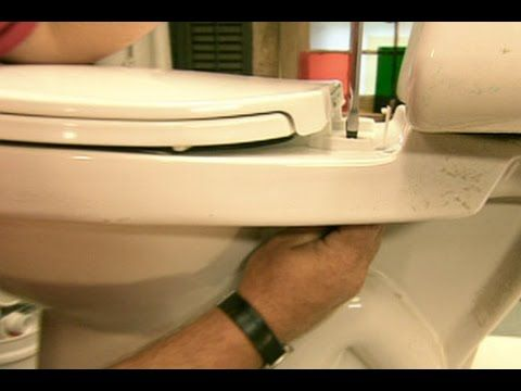How To Change A Toilet Seat This Old House Youtube How To Clean Rust Home Repairs Toilet