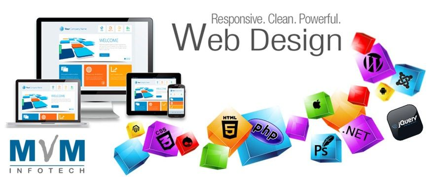 Mvminfotech Is A Main Web Design Company Bangkok Which Is A Standout Amongst The Most Inquis Fun Website Design Website Design Services Web Development Design