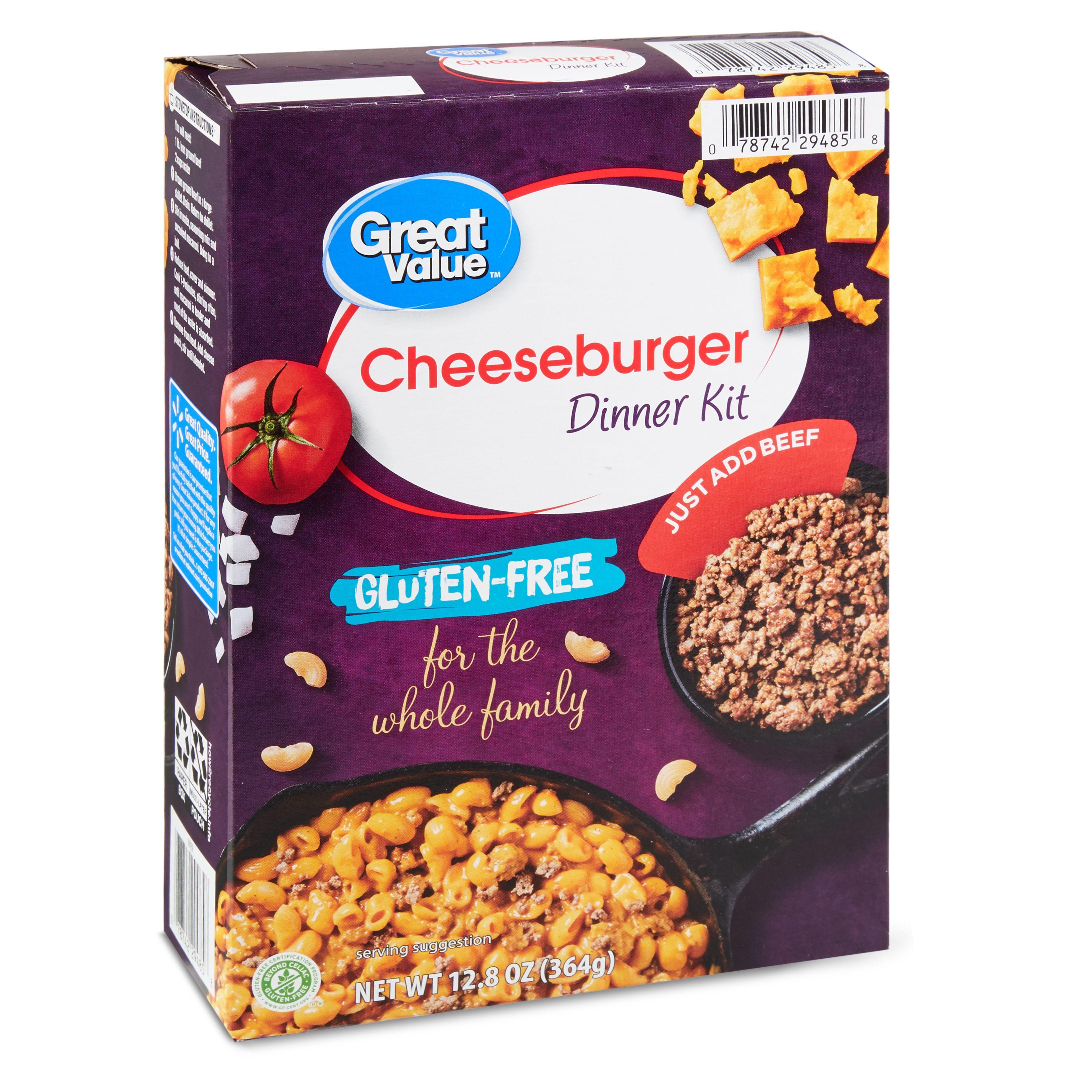 [2.47] Great Value Cheeseburger Dinner Kit not totally