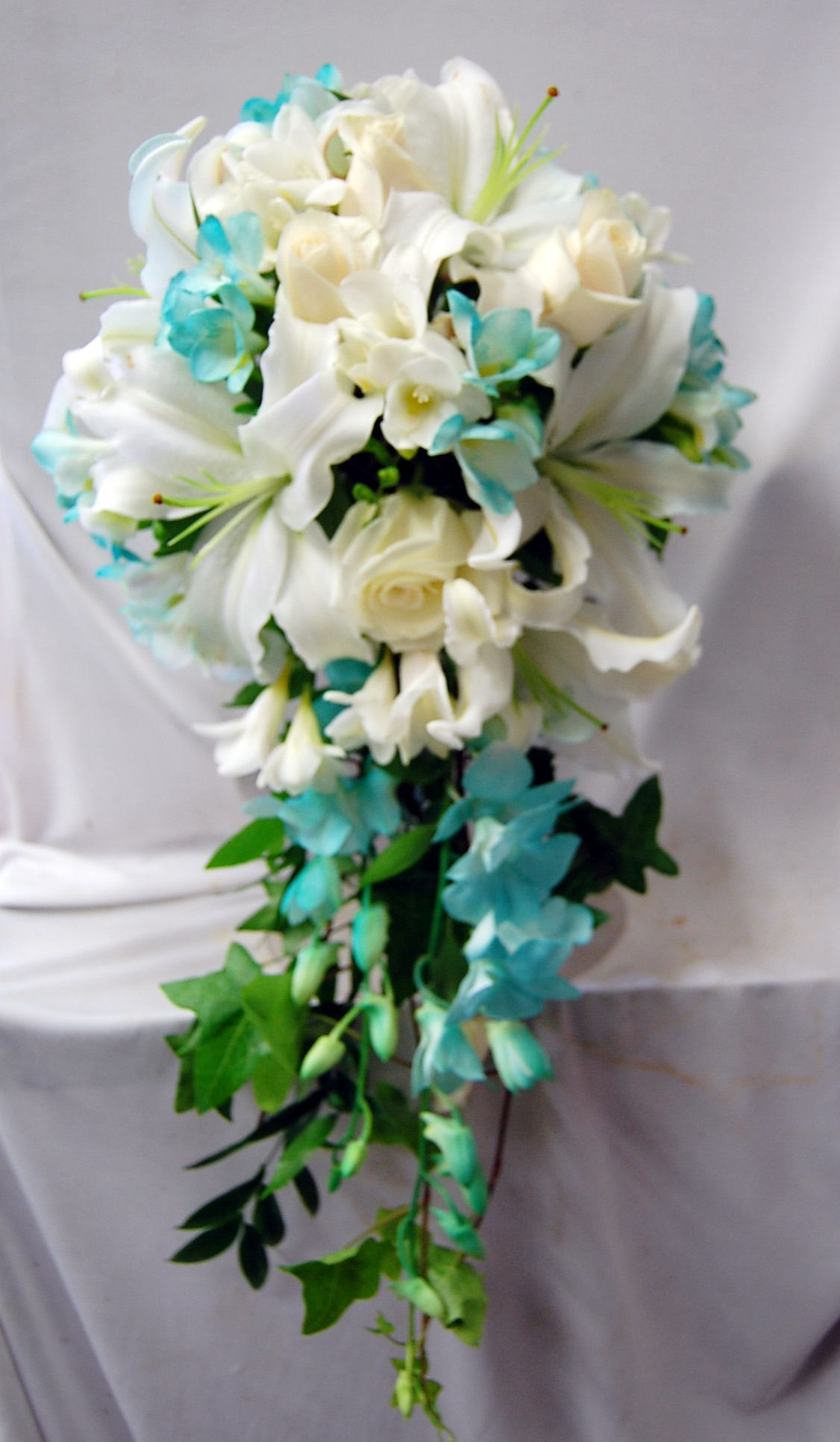 Blue bouquets bouquets tessfresh flowers fresh and