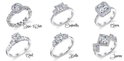 Disney Princess Fan Art Disney Princess Inspired Engagement Rings Disney Engagement Rings Disney Wedding Rings Disney Princess Wedding Rings