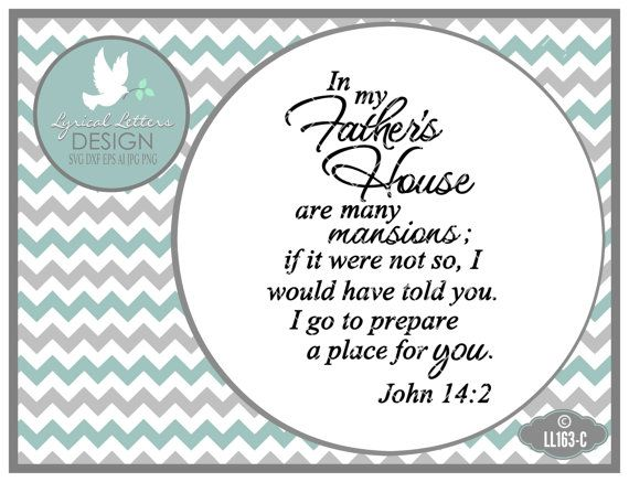 In My Father S House Many Mansions John 14 Ll163 C Svg Etsy My Father S House Lettering Design Graphic Design Tools