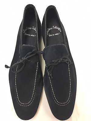 Santoni Mens ITALIAN MADE Loafers 100/% Authentic New In Box USA Seller