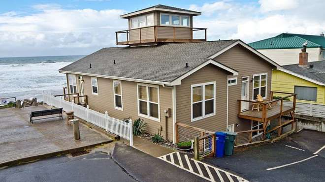 rental lincoln coast vacation city rentals house oregon yurt beach florence cabin graces