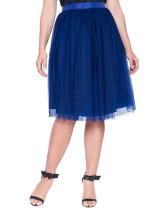 f9316d898 Studio Tulle Midi Skirt from eloquii.com | Mi estilo | Best plus ...