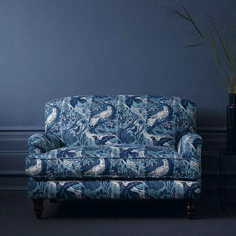 The sofa.com classic Snowdrop love seat in St. Jude's Fabric - starts at  $1,020 #classicsofa