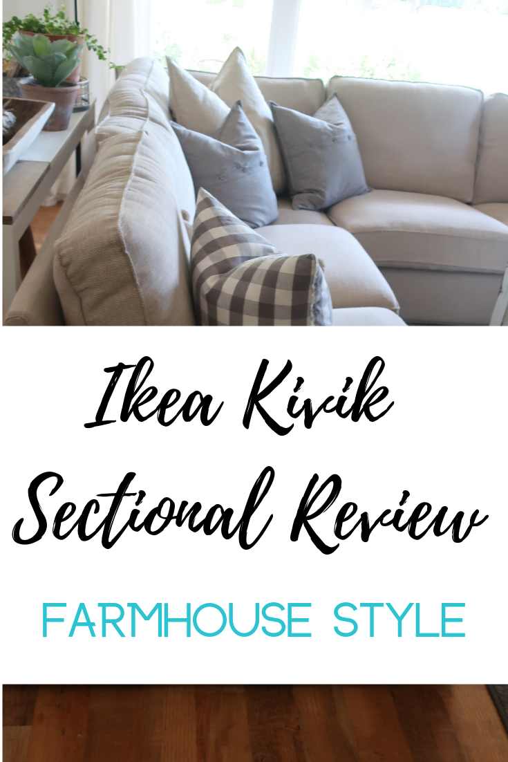 Fantastic Ikea Kivik Sectional Review And Farmhouse Decor Ikea Gmtry Best Dining Table And Chair Ideas Images Gmtryco