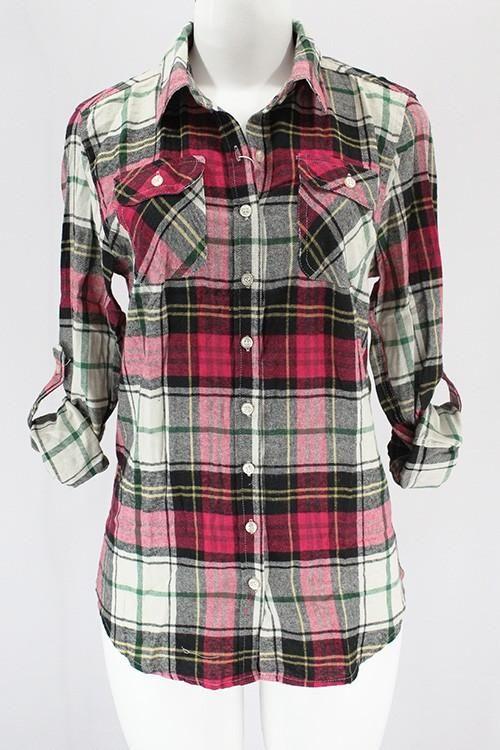 7e4cc2401c9 10 Best Women's Flannel Shirts | Capsule | Flannel shirt, Plaid ...