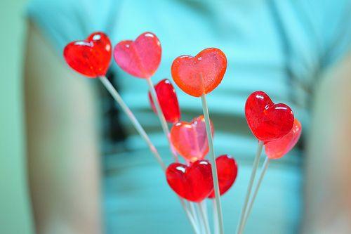Lollipop Valentines Boquets