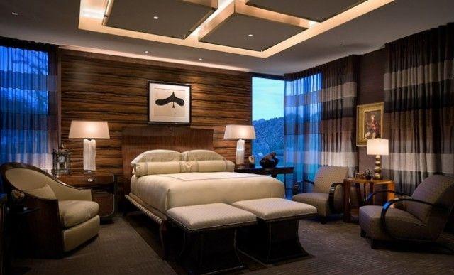 33-idées-plafond-moderne-design-élégant-chambre-coucher-éclairage