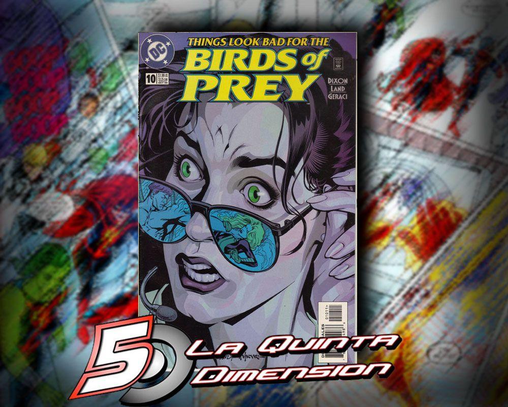 BIRDS OF PREY # 10 DE 1999.DIBUJO DE GREG LAND. ENFRENTAMIENTO CONTRA GUY GARDNER. $ 50.00 Para más información, contáctanos en http://www.facebook.com/la5aDimension