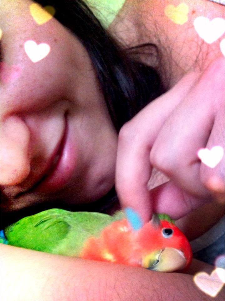 Meus dois amores, Vanessa e Nino!