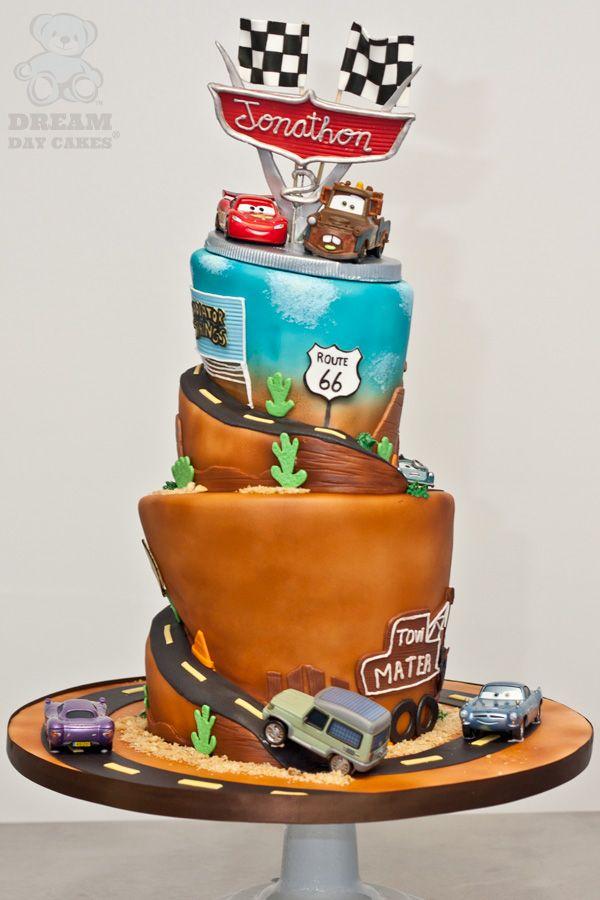 Cars Themed Birthday Cake Gainesville Dream Day Cakes Cars Birthday Cake Boy Birthday Cake New Birthday Cake