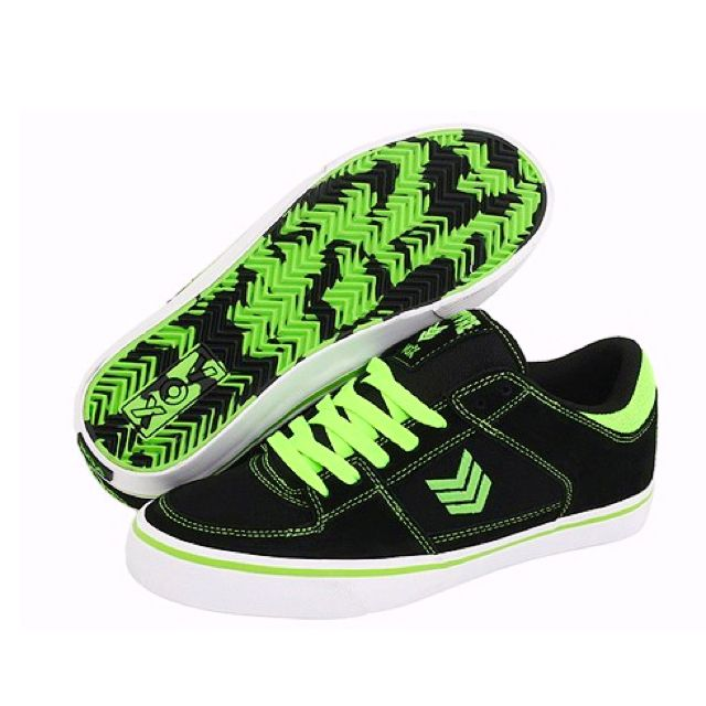C1rca Skateboard Shoes Hero Black / Pompeian Red - Trainers Sneaker, número de zapato:40