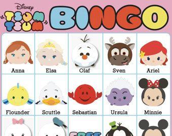 tsum tsum bingo – Etsy