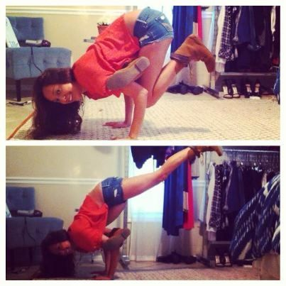 flying pigeon poseandrea sanchez » yoga pose weekly