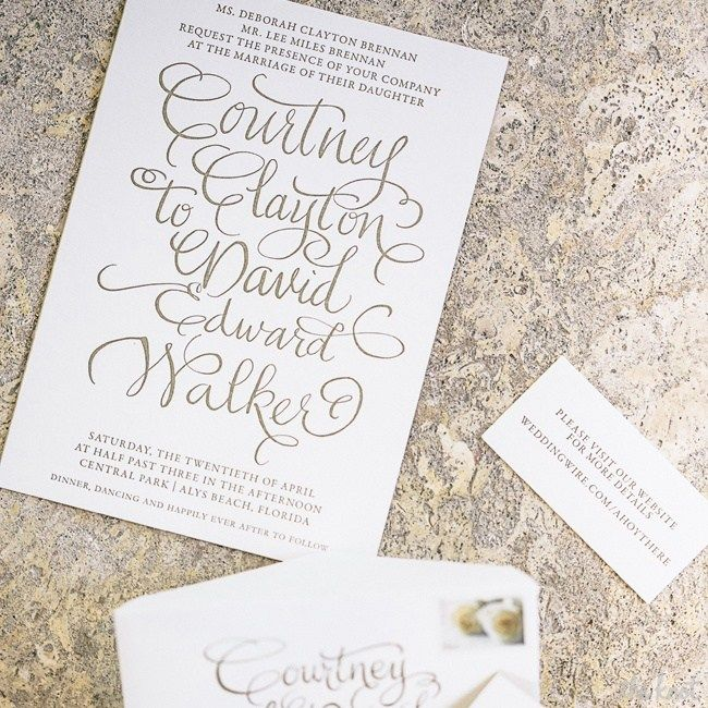 Gold Foil Swirly Calligraphy All Caps Font
