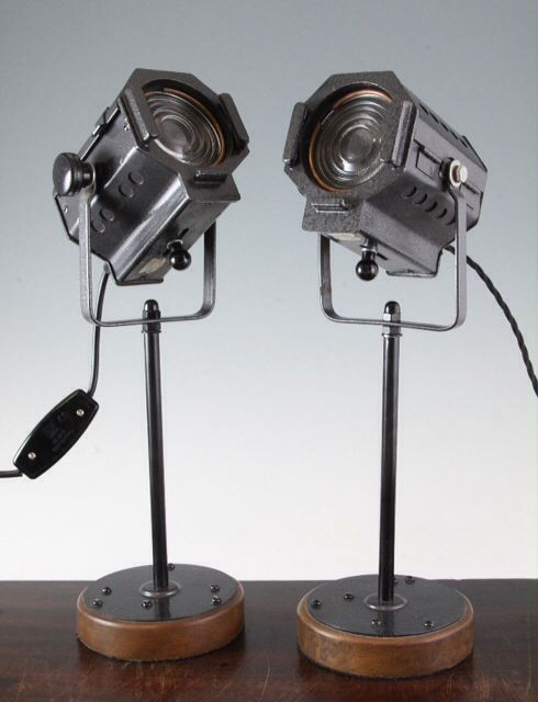 Vintage Mini Spotlights Lamps For Sale
