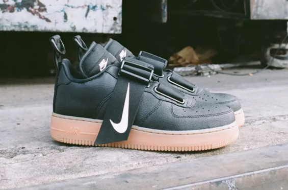 60f6892e3e The Nike Air Force 1 Low Utility Black Gum is another rendition of the  updated silhouette for fall, and it's releasing later this month.