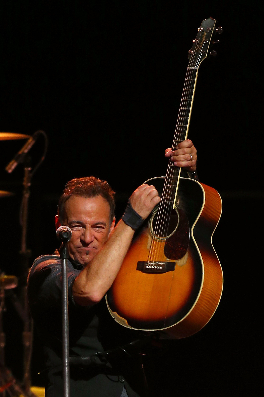 Bruce Springsteen Concert Setlist at Rose Garden Arena