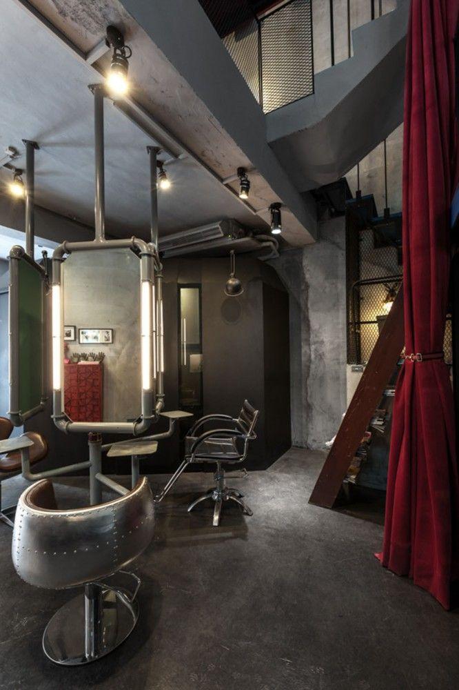Gallery Of Renovation Of Split Level Hair Salon Residential