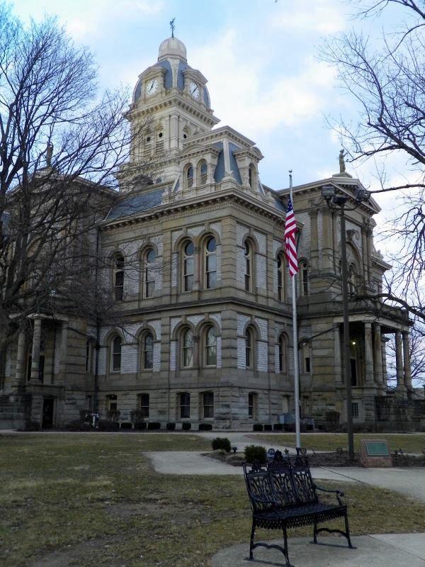 Sidney Ohio Shelby County Courthouse Ohio History Shelby County Ohio