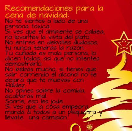 Recomendaciones para Navidad