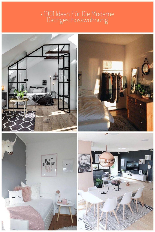 1001 Ideen Fr Die Moderne Dachgeschosswohnung In 2020 Wohnung