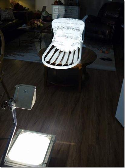 using overhead projector | Furniture restoration, Redo ...