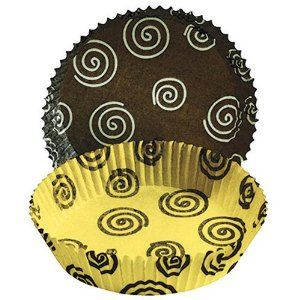 Cupcake Creations Muffin Top Tart Baking Cups Twirl 30 Pack By