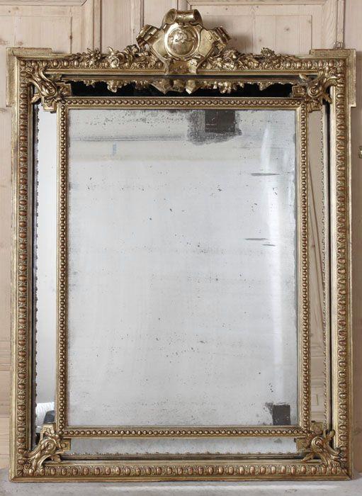 Antique Napoleon III Mirror | Gilded Mirrors | Inessa Stewarts Antiques