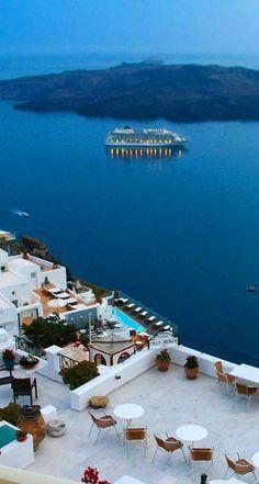 Cena romantica en Grecia!!!