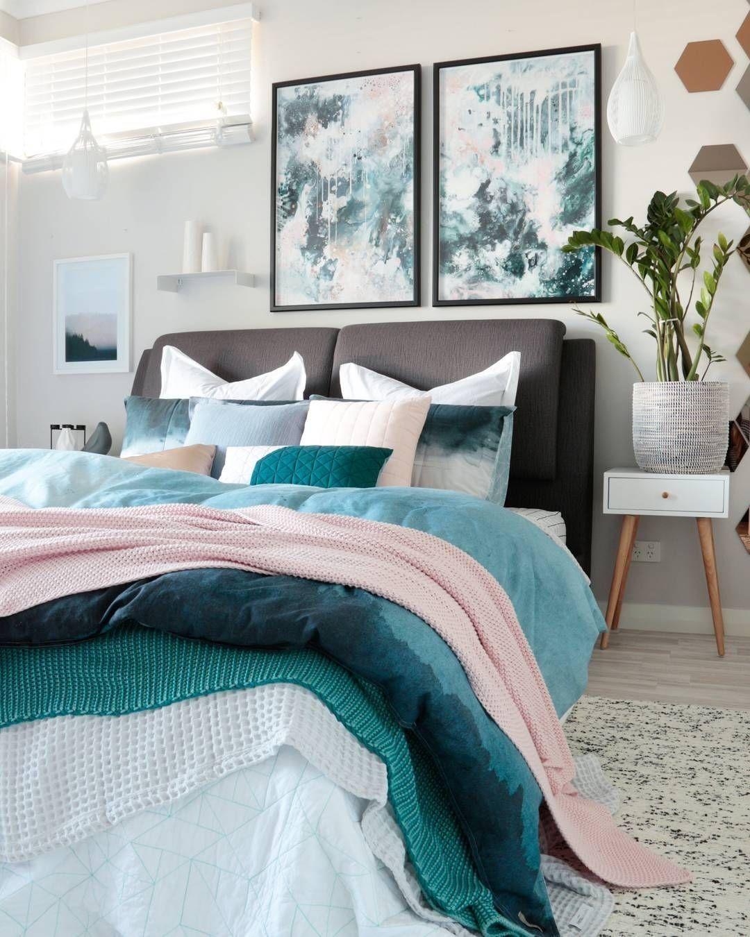 14 Modern Interior Scandinavian Bedroom Blue Cozy Master Bedroom Home Decor Bedroom Bedroom Interior