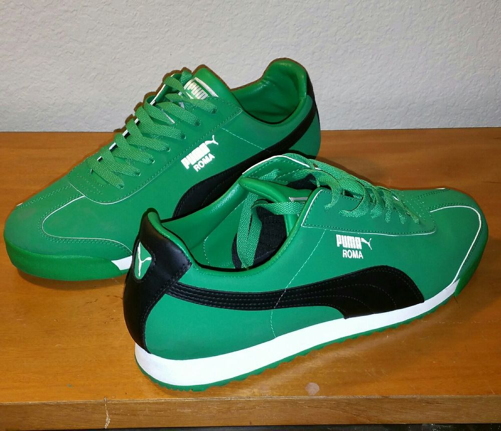 Puma Roma (Green) Mens Sneakers Size 11