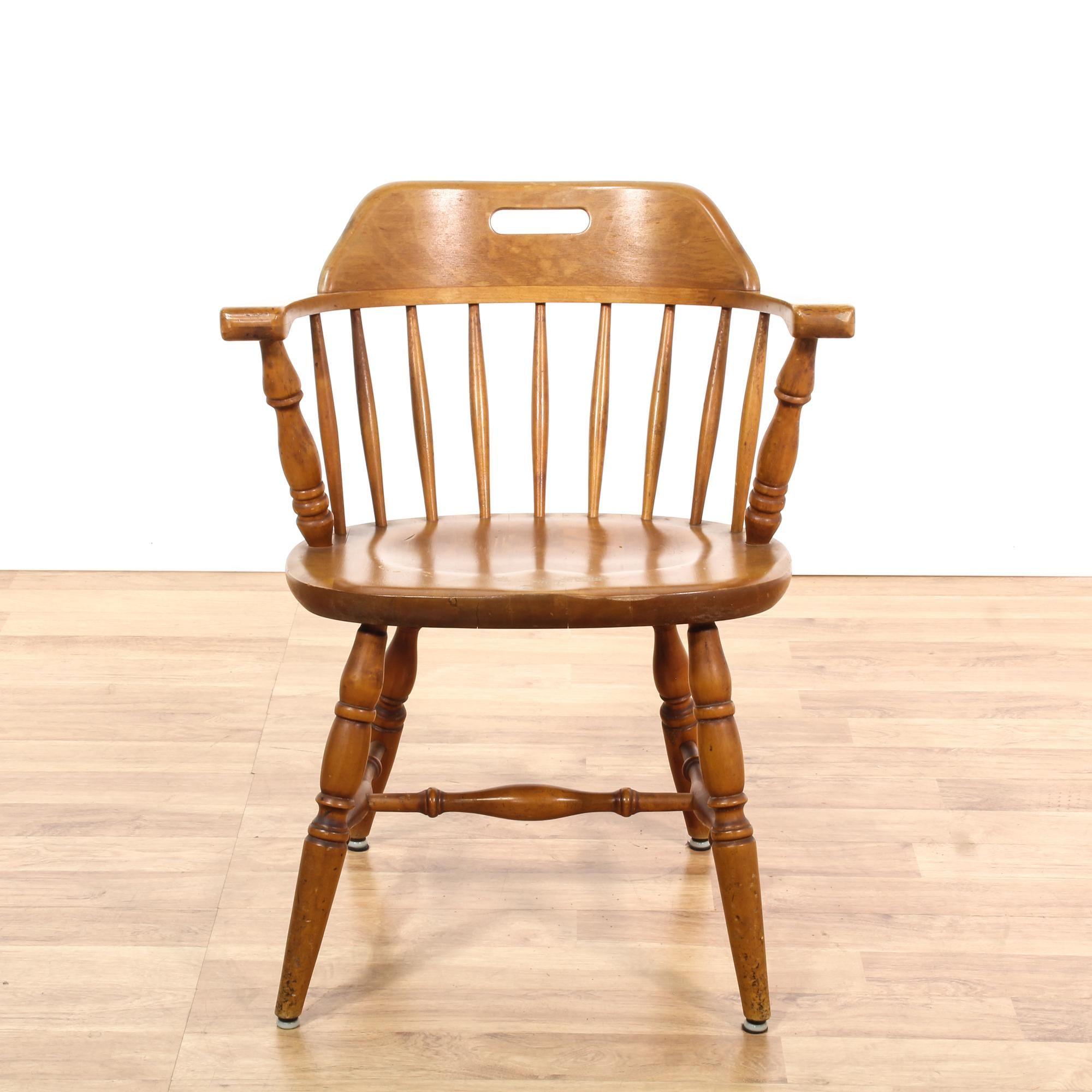 Maple Barrel Back Chair Maple Chair Chair Vintage Furniture