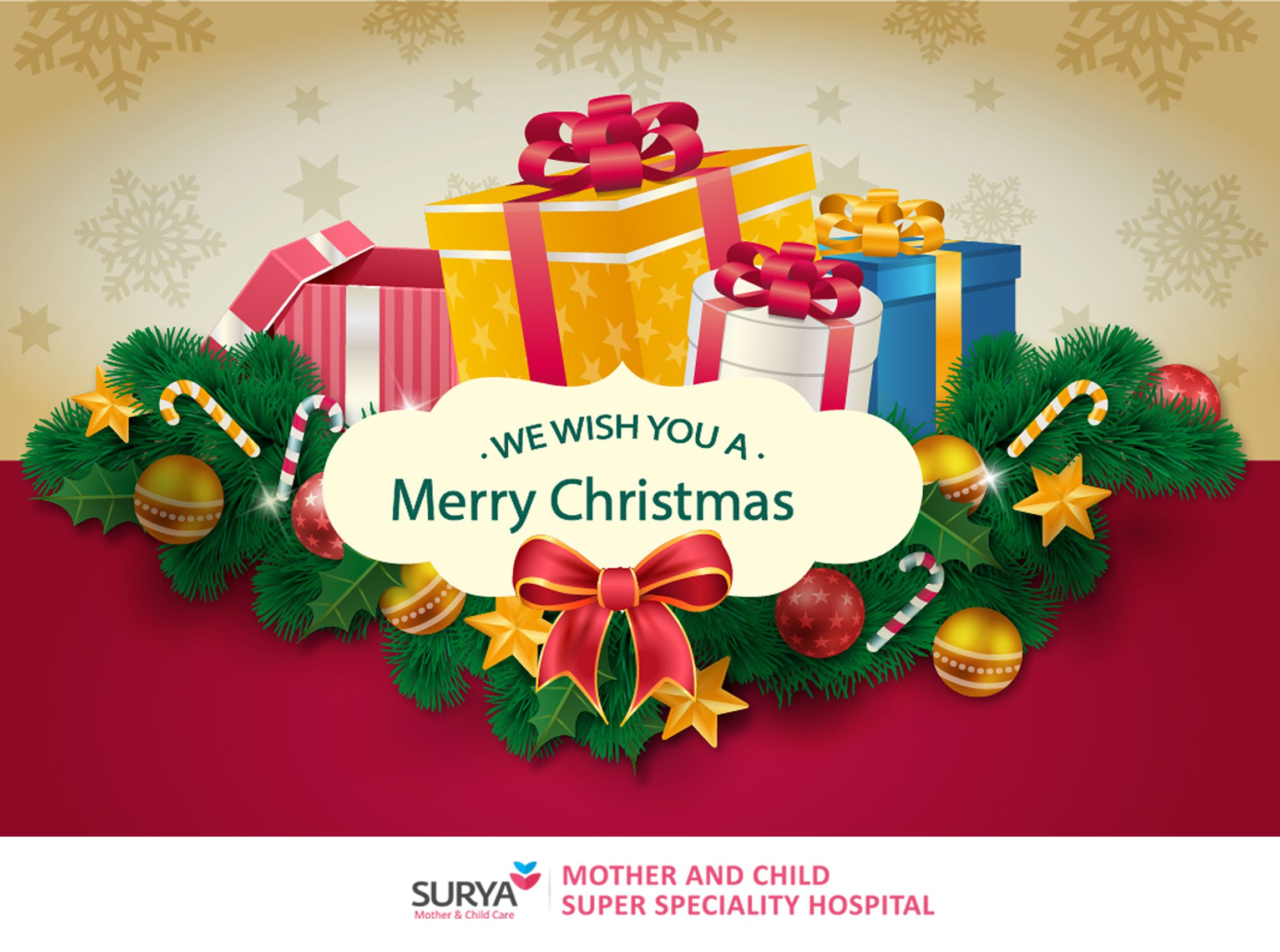 Surya Child Care Wishes You A Merry Christmas