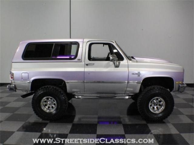 1986 K5 Chevy Blazer I Like This Paint Job But Not The Purple
