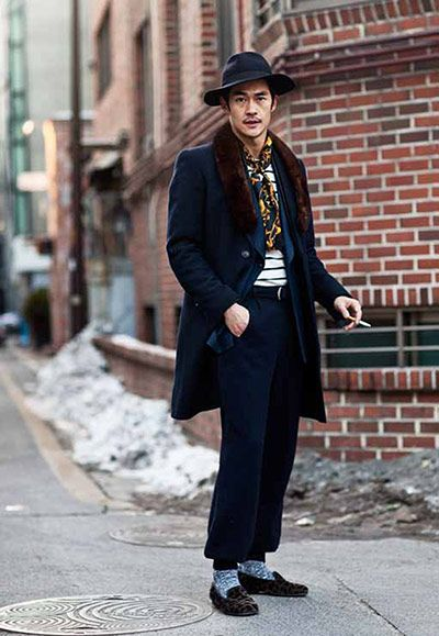 The Sartorialist - Asian swag