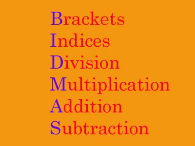 BIDMAS quiz | Math helper, Mathematical expression, Order of ...