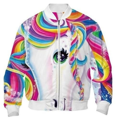 lisa frank bomber jacket--how is this even possible?! | wishlist ...