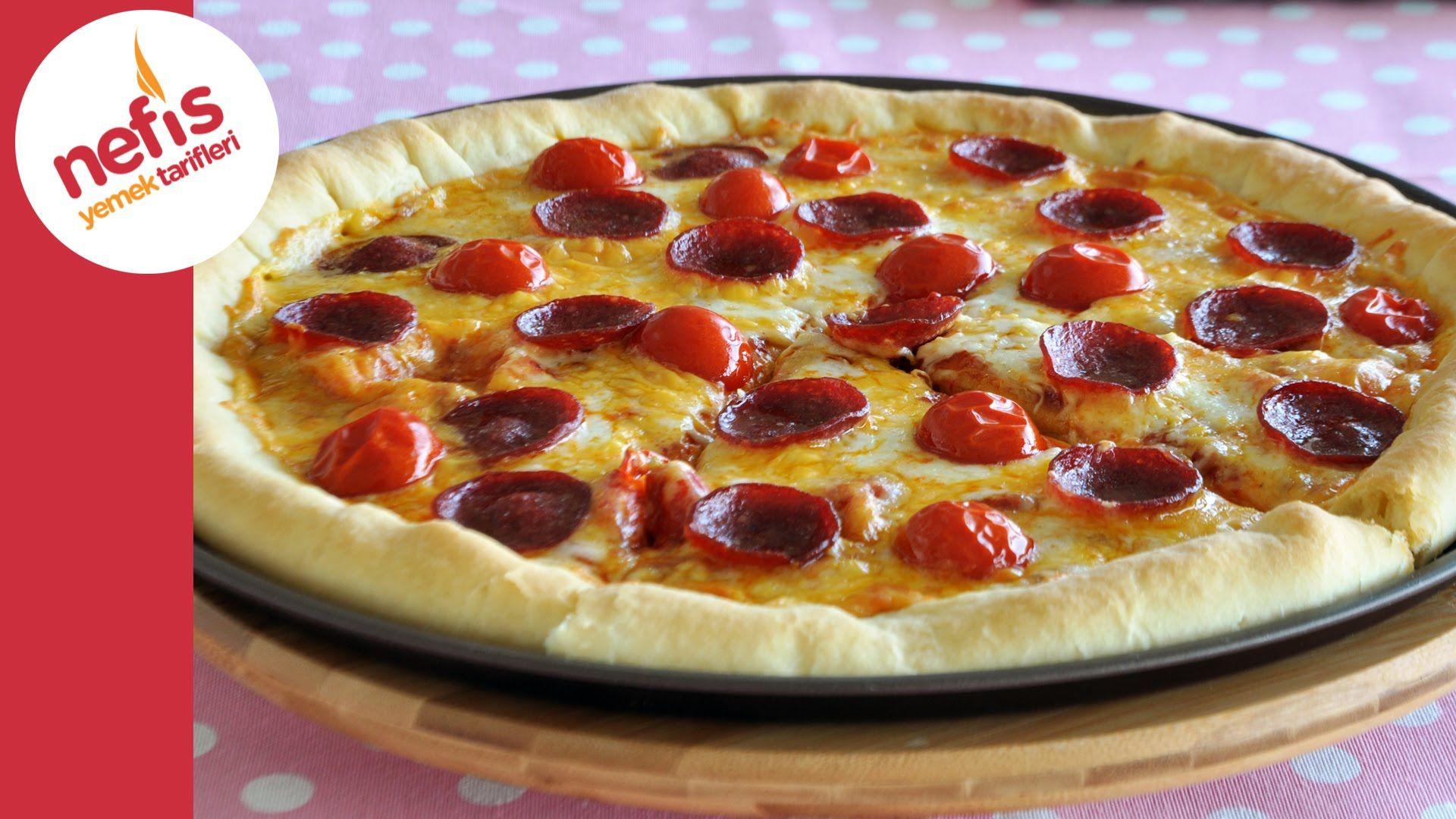 Beyaz Peynirli Pizza Tarifi