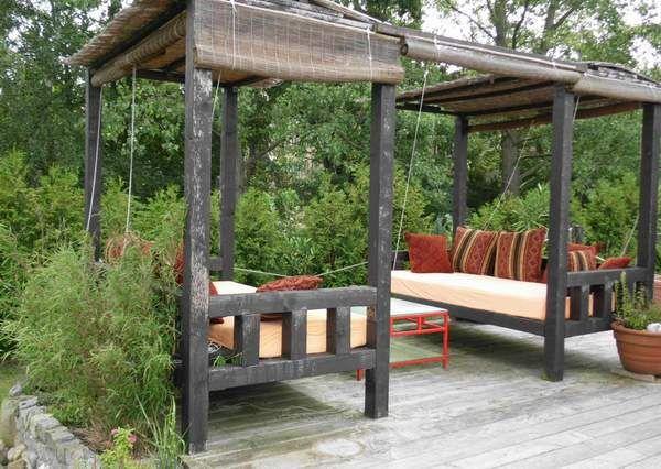 chill out zone outdoor spaces pinterest garten ideen gartenideen und g rten. Black Bedroom Furniture Sets. Home Design Ideas