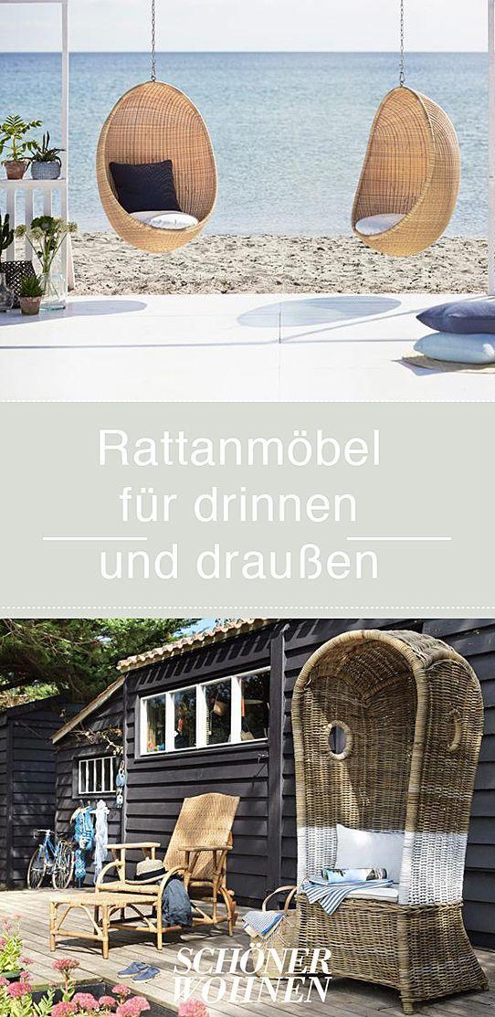 moderne moebel fuer haus, moderne rattanmöbel - modelle für haus und garten: hängesessel, Design ideen