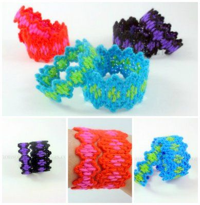 Zig-Zag Bracelets - a pair is better than one!